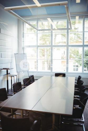 Business meeting room in office