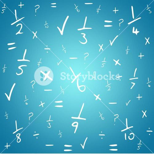 Composite image of maths