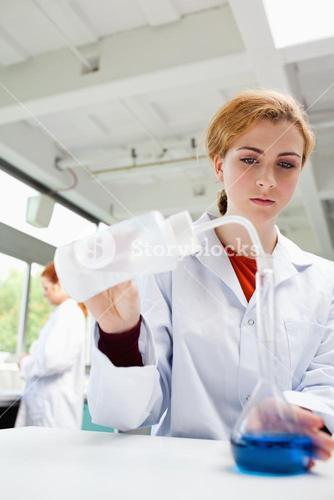 Portrait of a scientists working