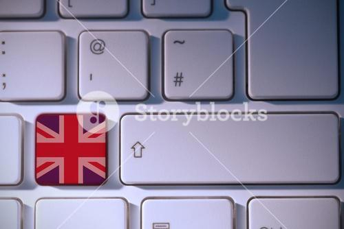 Composite image of great britain national flag