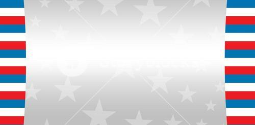 Cropped image of American flag