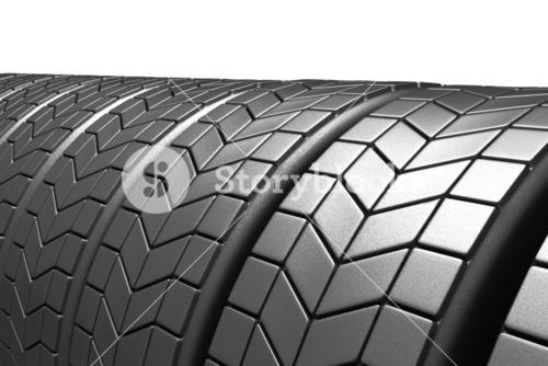 Closed up tyres