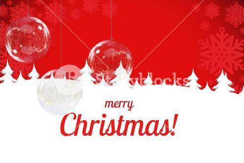 Red and White Christmas Design
