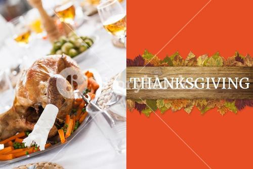 Thanksgiving Message and Turkey