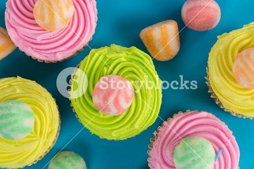 Close-up of cupcake