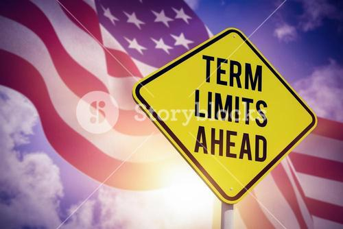 Composite image of term limits ahead