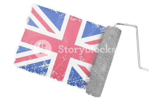 Composite image of great british national flag