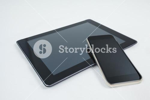 Digital tablet and mobile phone