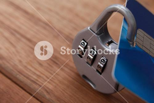 Smart card protected with number lock