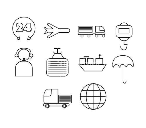 Various set of vector icons