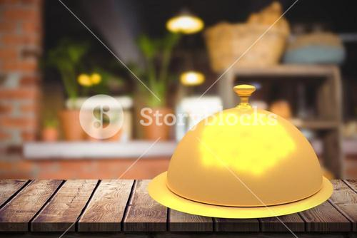 Composite image of serving dish