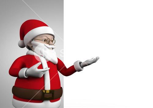 Figurine of santa claus during christmas time