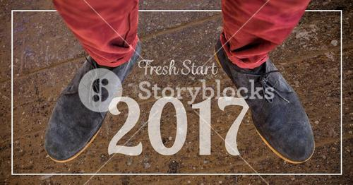 2017 new year wishes against suede chukka boots