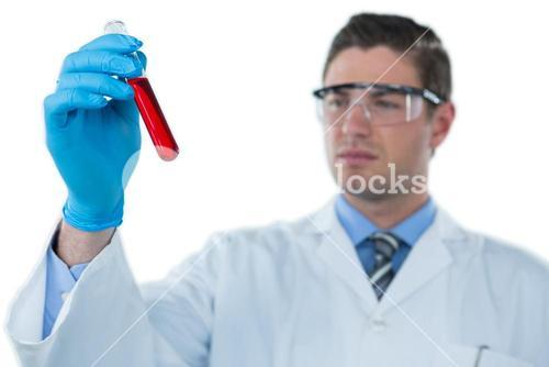 studio shot, white background, doctor, lab technician, medical, occupation, profession, professional