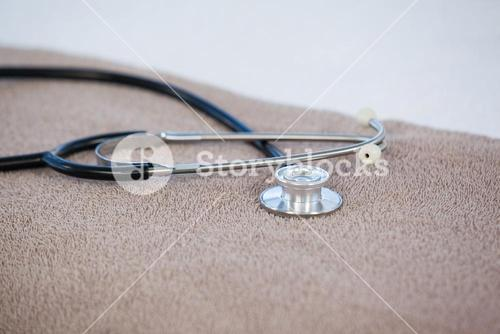 Close-up of stethoscope