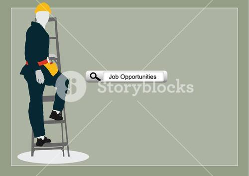 representation of worker with hardhat