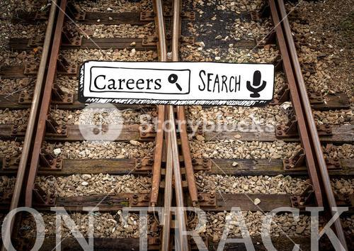 Digital composite of career option