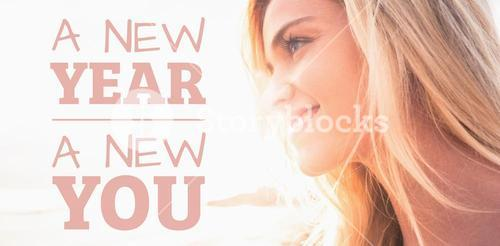 Composite image of new year new you