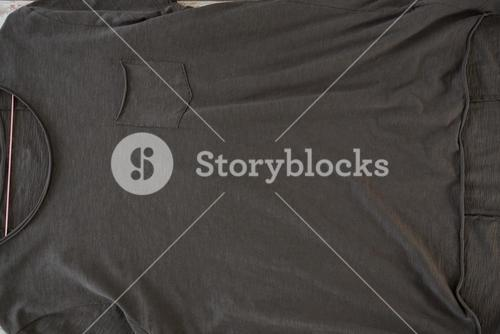 Grey t-shirt with pocket