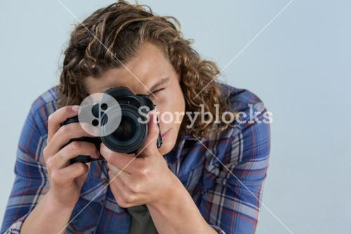 Photographer clicking a picture