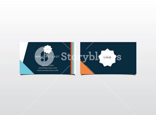 Vector templates of visiting card