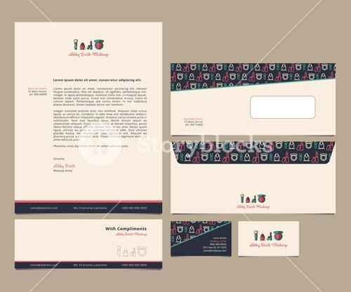 Vector of letter with envelops