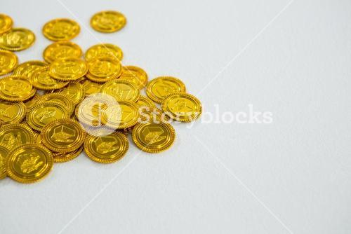 St. Patricks Day chocolate gold coins