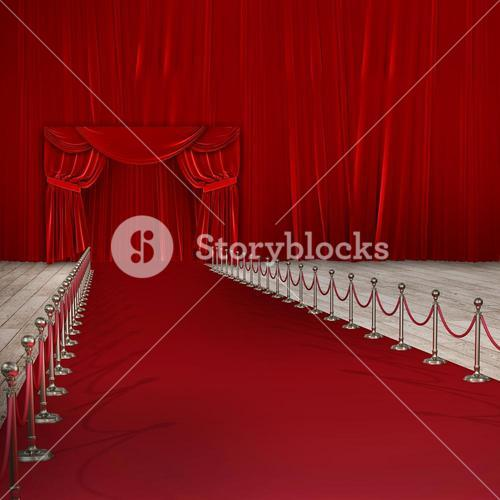 Composite image of composite image of red carpet event