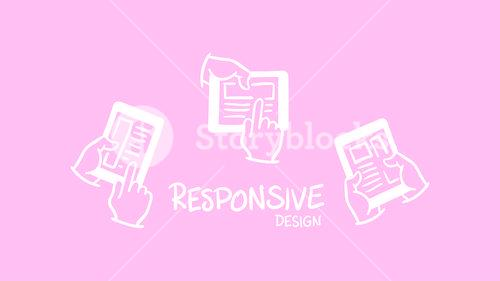 Vector icon of web designing