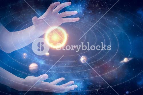 Composite image of hands gesturing against white background 3d