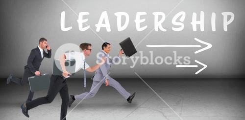 Composite image of composite image of business men