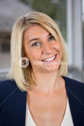 Beautiful businesswoman smiling in conference centre