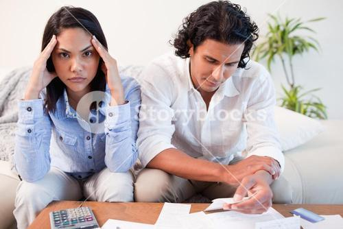 Couple just found out they are broke