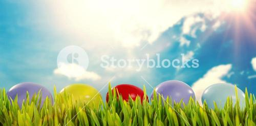 Composite image of grass growing outdoors