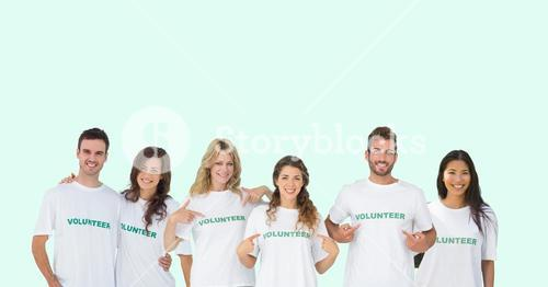 volunteers group