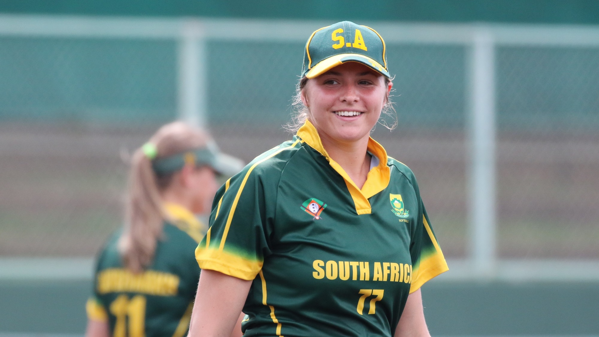 Madelein Bester started for South Africa against The Netherlands