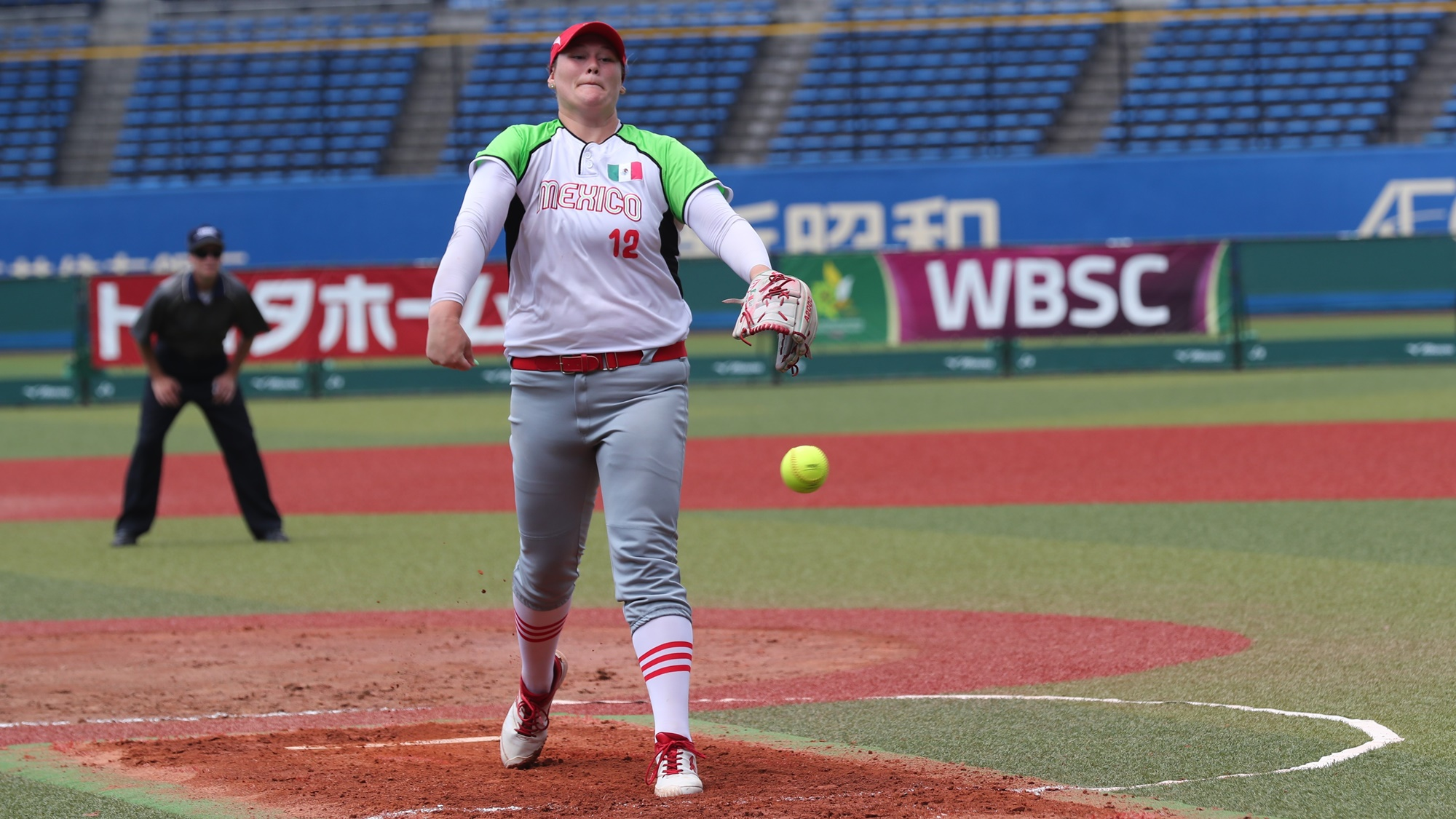 Dallas Escobedo pitched another gem for Mexico: she went 9 innings, struck out 16
