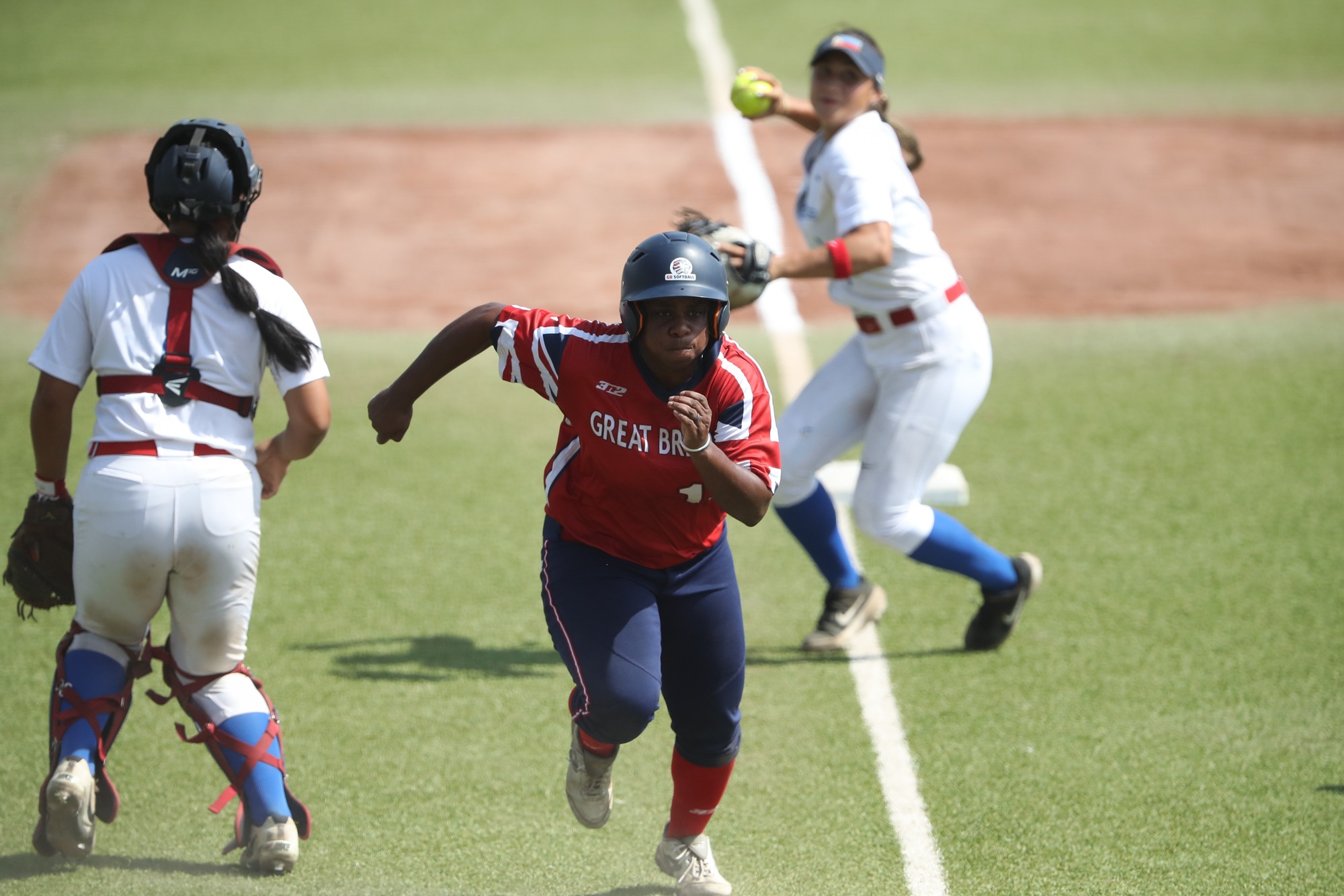 Great Britain scores the go ahead run