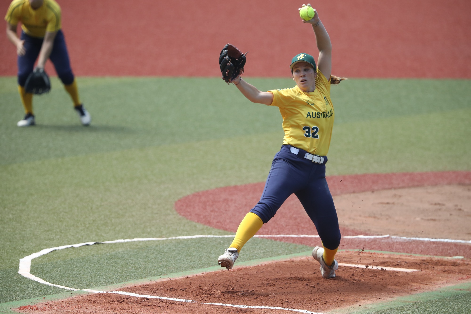 Kaia Parnaby went 8 innings and picked the win for Australia
