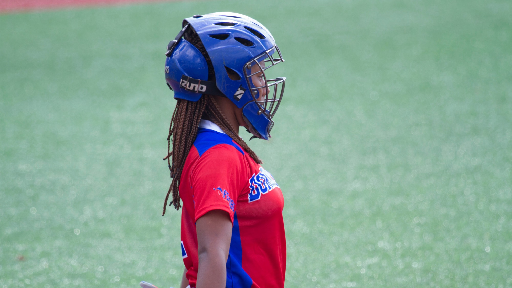 Noelia Morillo got the first ever hit for the Dominican Republic