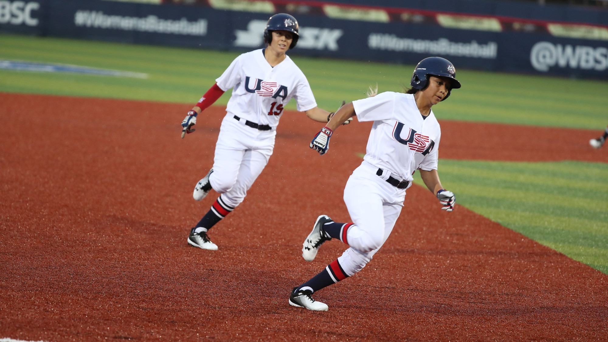 USA runners get busy on the bases