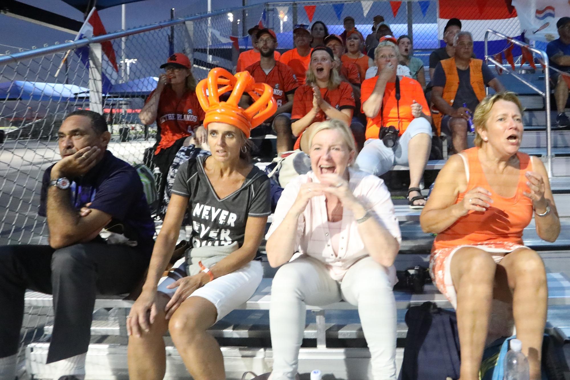 Dutch fans in Viera