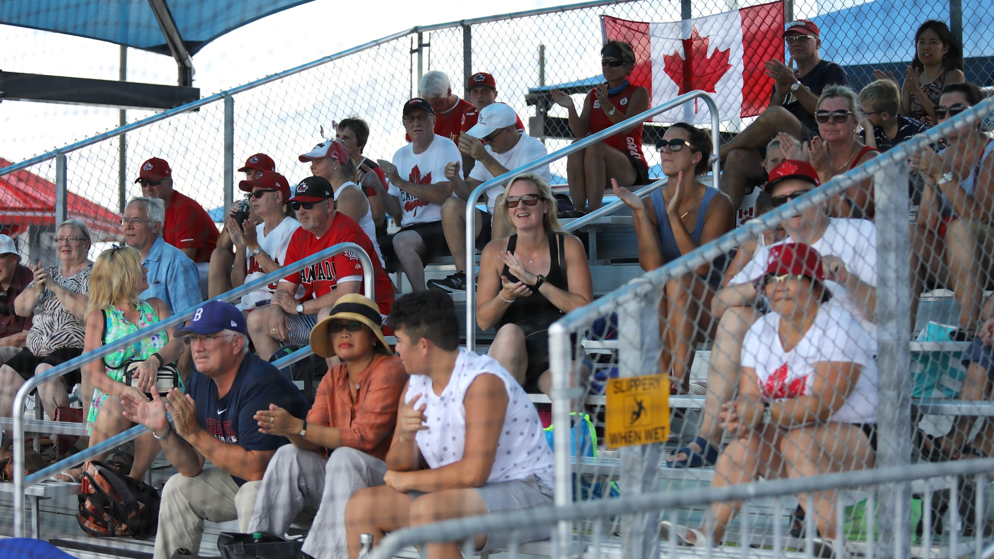 Canada fans in Viera