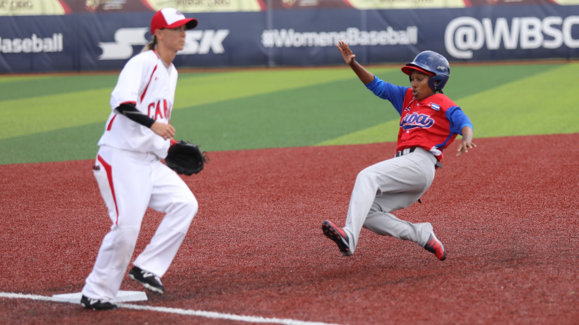 Cuba could not stick to an early lead and lost a game cut short by bad weather