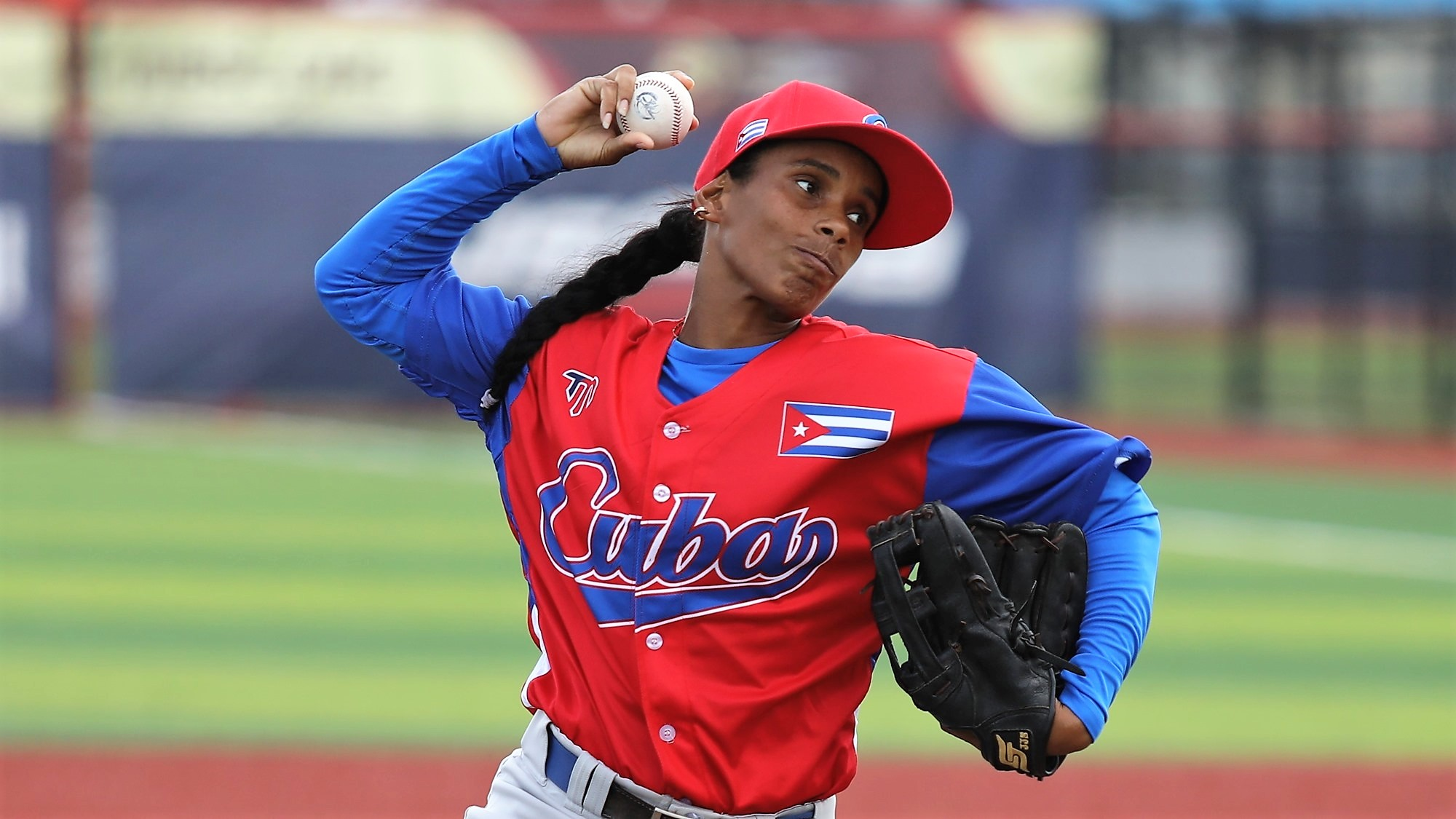 Maraisy Perez started the game for Cuba