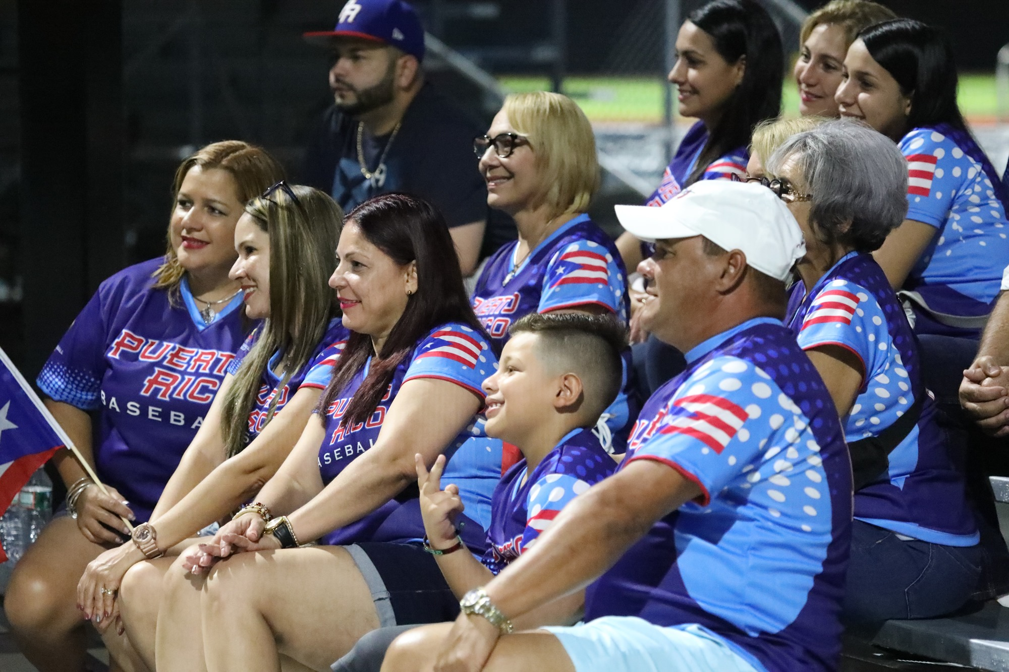 Puerto Rico fans lived the first happy night