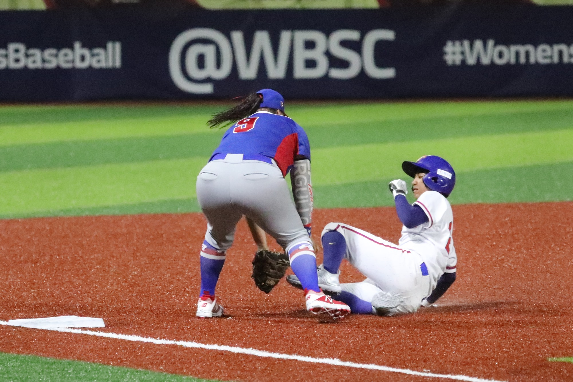 Chinese Taipei tried to play aggressive baseball on the base paths
