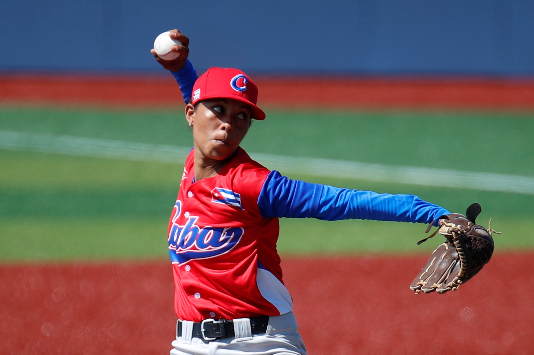 Dianelis Porro went the distance for Cuba