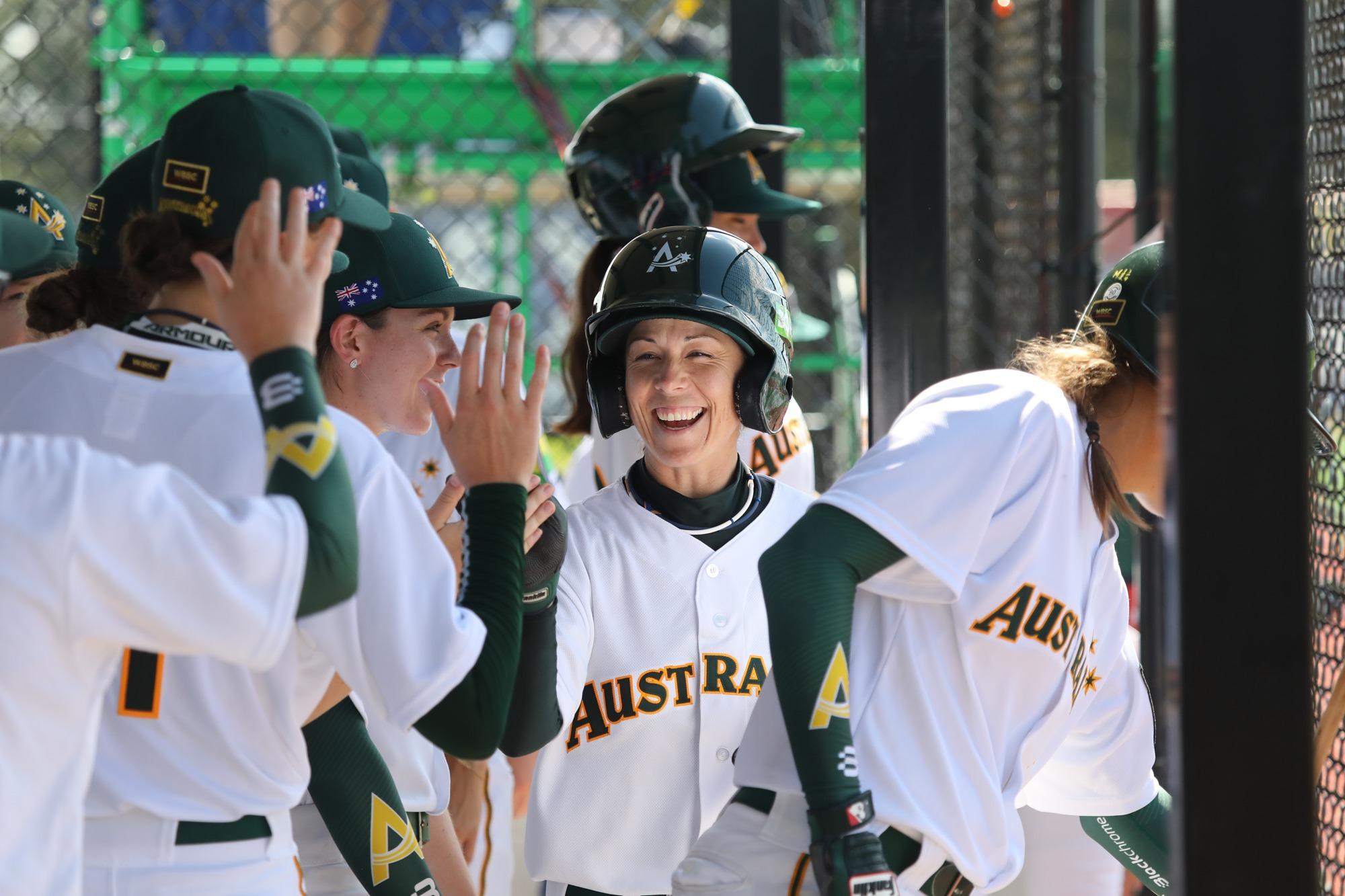 Australia's celebration