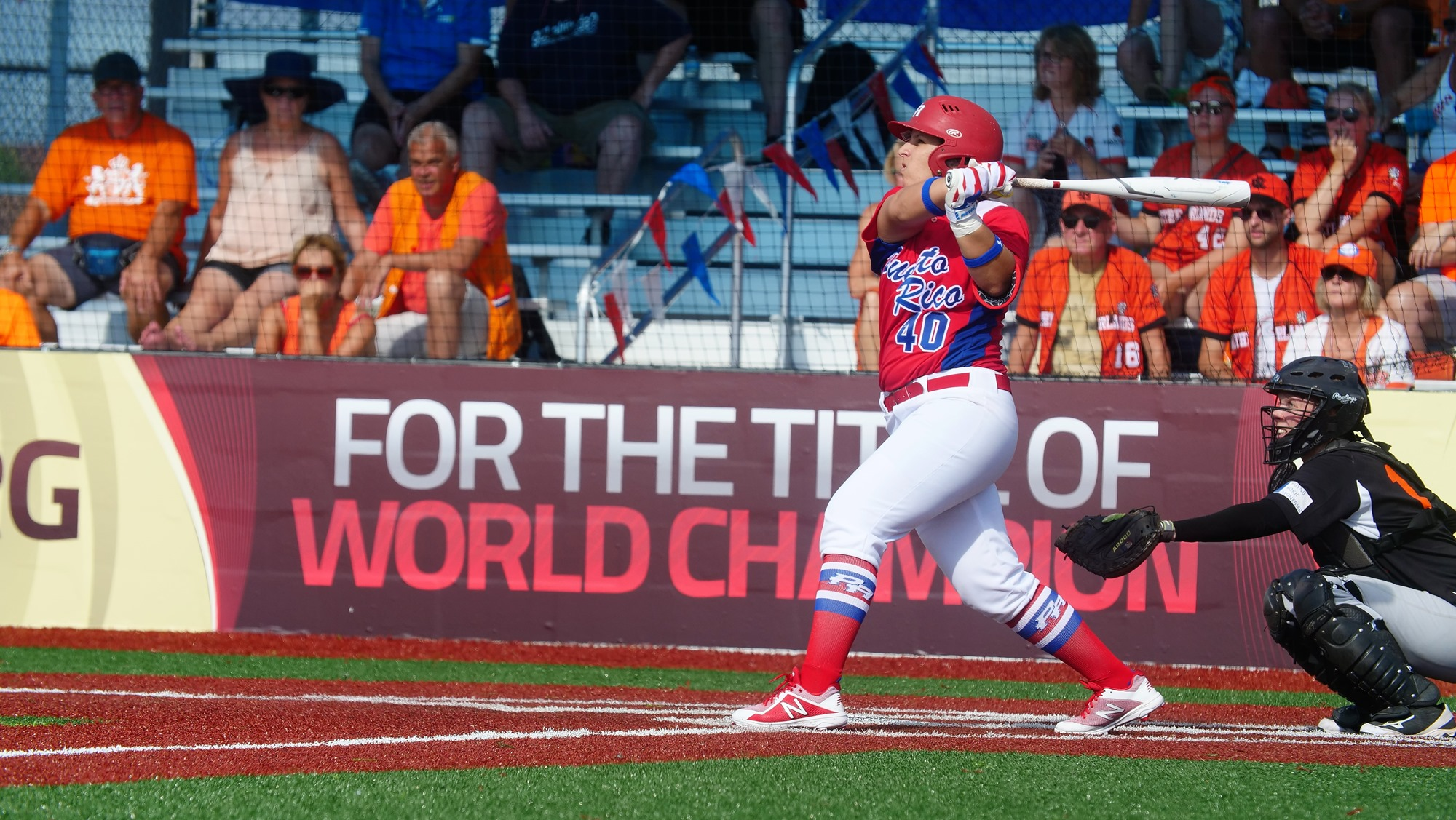 Diamilette Quiles led Puerto Rico offense against The Netherlands
